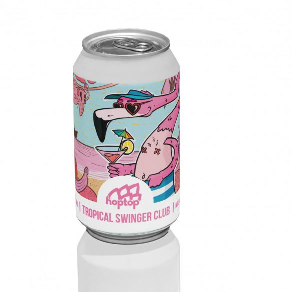HopTop Tropical Swinger Club - Fruit IPA 8%