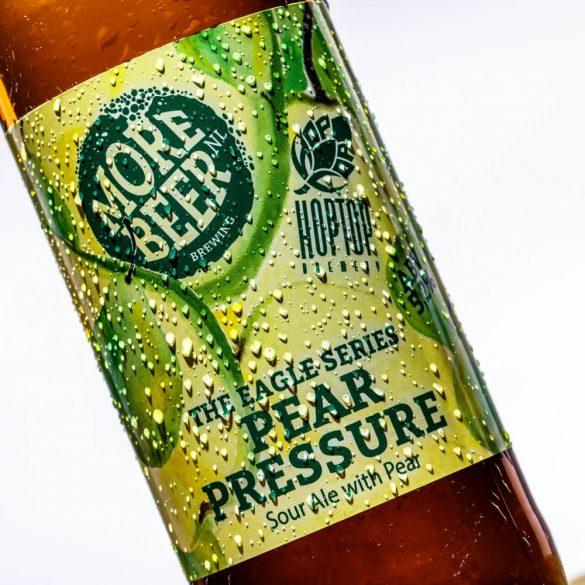 HopTop x Morebeer collab Pear Pressure – Körtés Sour Ale 5,2%