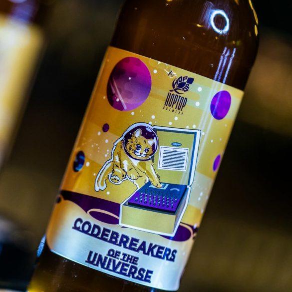 HopTop Codebreakers of the Universe - New England IPA 6%