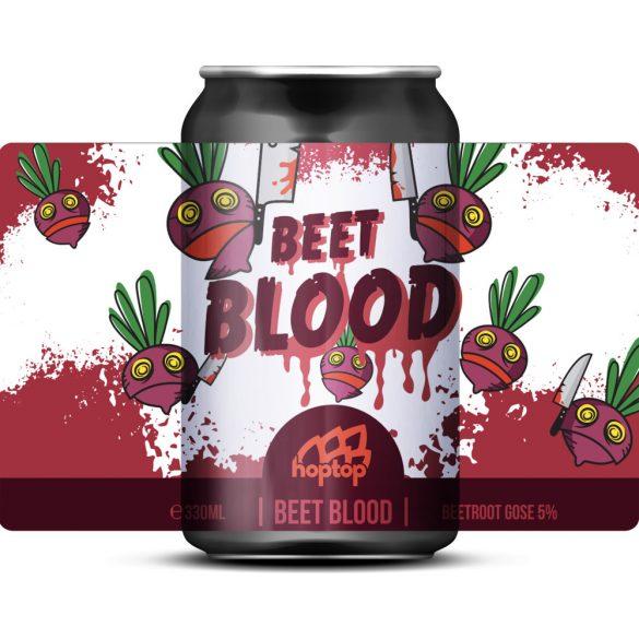 HopTop Beet Blood - Céklás Gose 5%