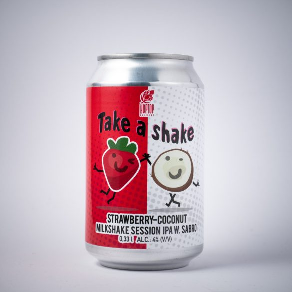 HopTop x One Beer Take a Shake - Milkshake Session IPA 4%