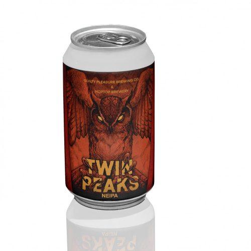 TWIN PEAKS 6,5% - NEIPA HOPTOP X GUILTY PLEASURE BREWING