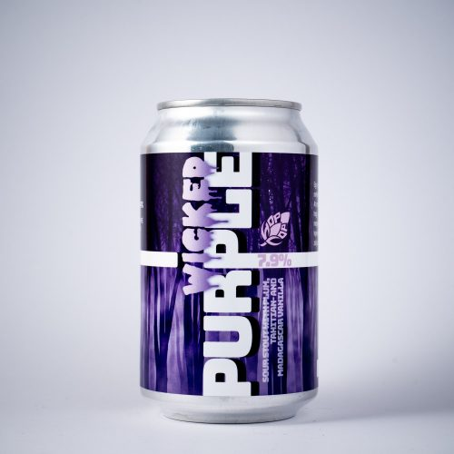 WICKED PURPLE 7,9% - SOUR STOUT WITH PLUM, TAHITIAN- AND MADAGASCAR VANILLA