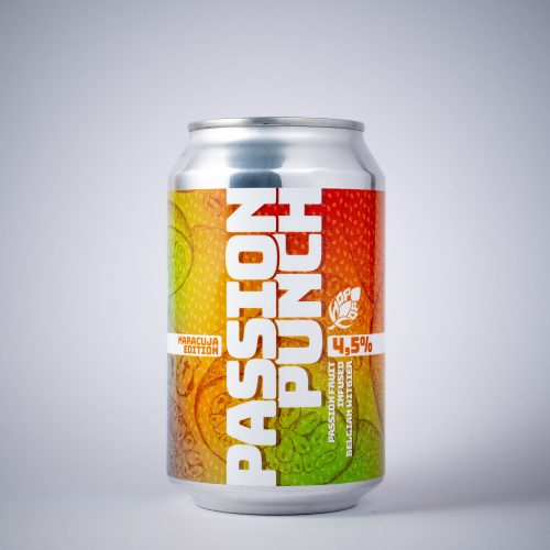 PASSION PUNCH 4,5% - PASSION FRUIT INFUSED BELGIAN WITBIER